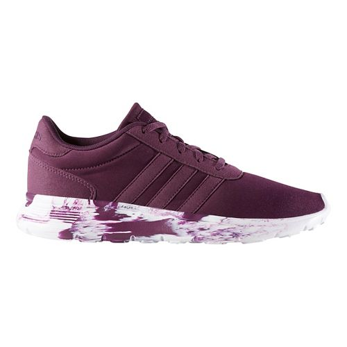 Womens adidas Lite Racer Casual Shoe - Merlot 6.5