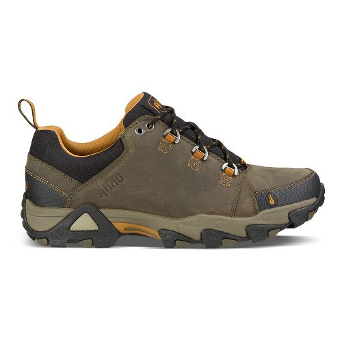 Mens Ahnu Coburn Low Hiking Shoe - Bunker Green 8