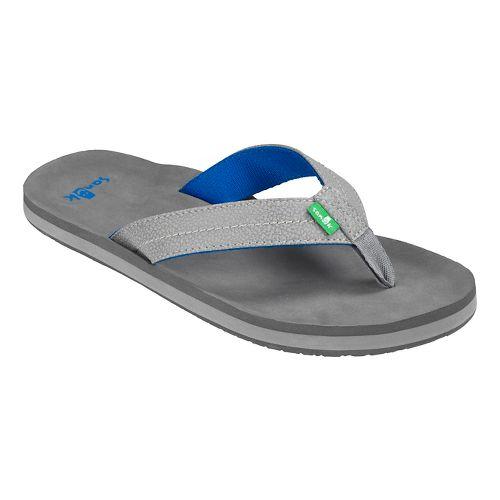Mens Sanuk Burm Sandals Shoe - Navy 10