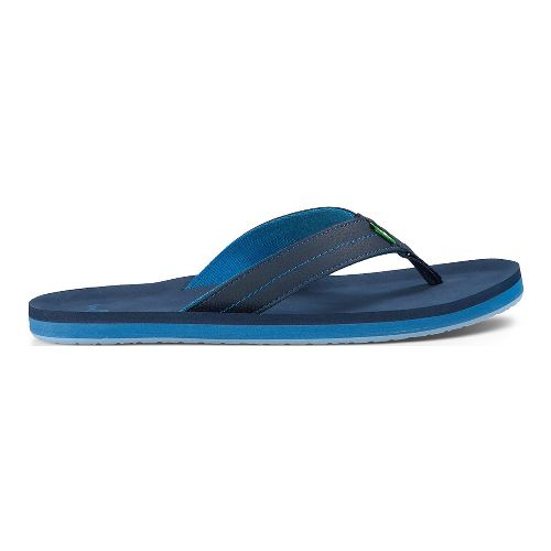 Mens Sanuk Burm Sandals Shoe - Ocean 10