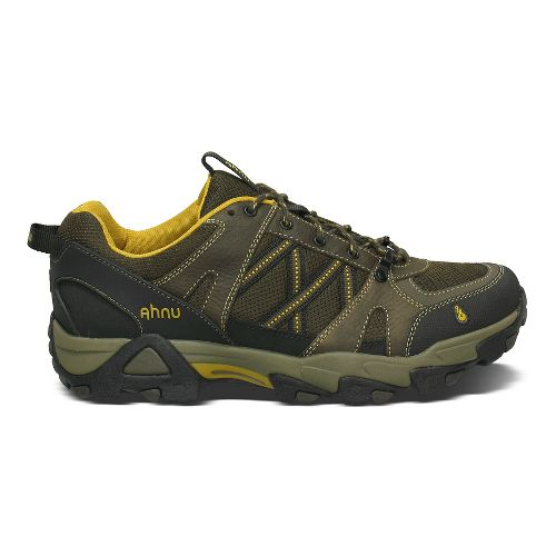Mens Ahnu Moraga Mesh Hiking Shoe - Smokey Brown 10