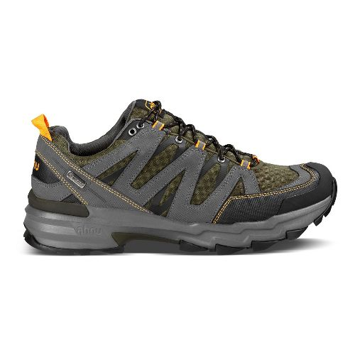 Mens Ahnu Ridgecrest Hiking Shoe - Dark Olive 9