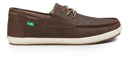 Mens Sanuk Casa Barco Deluxe Casual Shoe - Brown 8