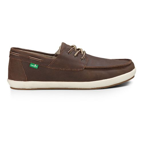 Mens Sanuk Casa Barco Deluxe Casual Shoe - Brown 12