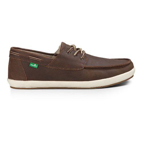 Mens Sanuk Casa Barco Deluxe Casual Shoe - Brown 8.5
