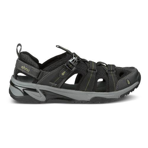 Mens Ahnu Del Rey Sandals Shoe - Smoke Charcoal 10