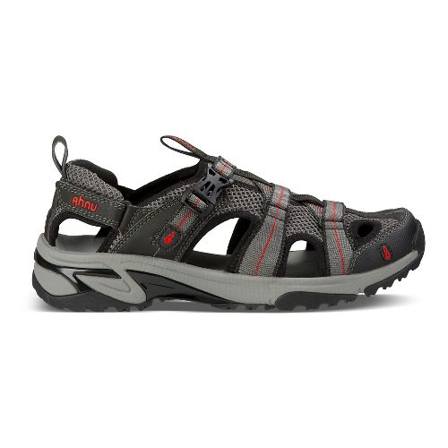 Mens Ahnu Del Rey Sandals Shoe - Smoke Charcoal 11.5