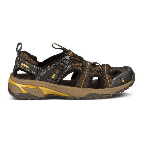 Mens Ahnu Del Rey Sandals Shoe - Smokey Brown 10.5