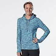 Womens R-Gear On the Move Printed Half-Zips & Hoodies Technical Tops - Midnight Blue/Marina S