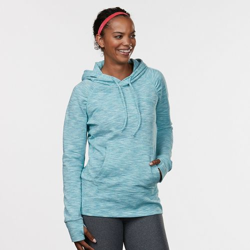 Womens Road Runner Sports On the Move Printed Hoodie & Sweatshirts Technical Tops - Oasis ...