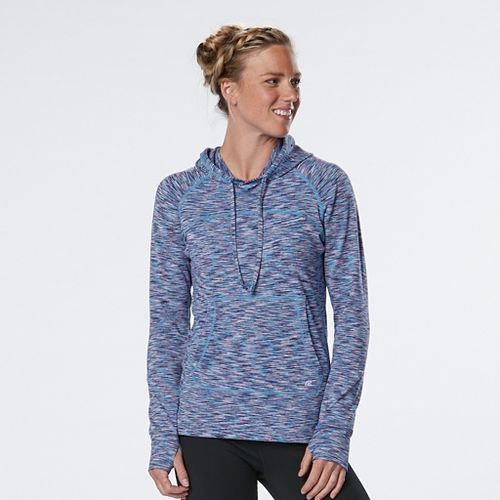Womens R-Gear On the Move Printed Half-Zips & Hoodies Technical Tops - Let's Jam/Marina L