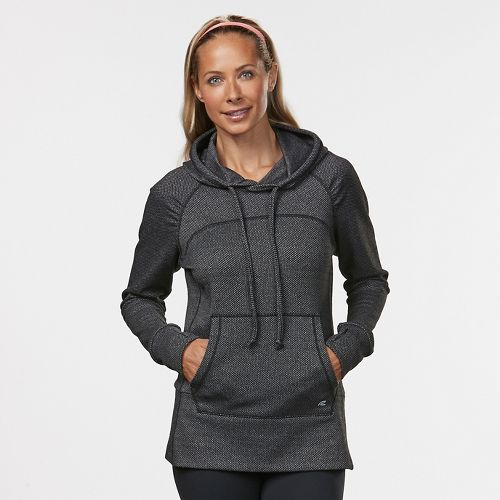 Womens Road Runner Sports On the Move Printed Hoodie & Sweatshirts Technical Tops - Black ...