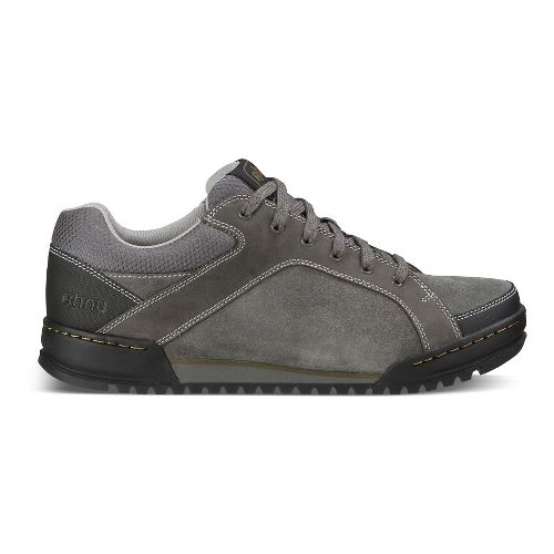 Mens Ahnu BalBOA Casual Shoe - Dark Grey 8.5