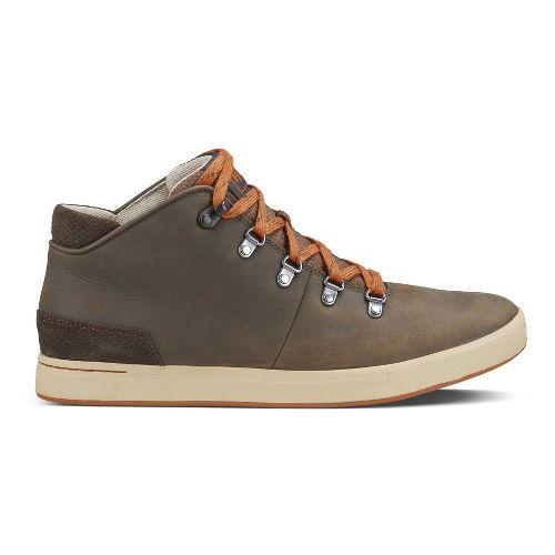 Mens Ahnu Fulton Mid Casual Shoe - Courdoroy 10.5