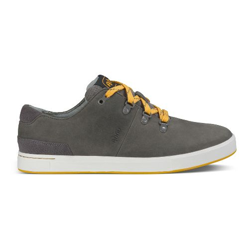 Mens Ahnu Fulton Low Casual Shoe - Smoke Charcoal 10