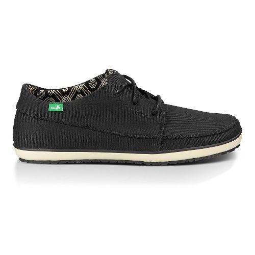 Mens Sanuk Cassius Casual Shoe - Black 10