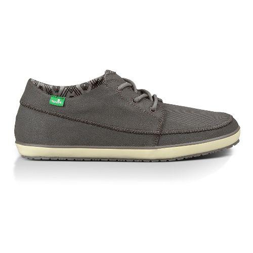 Mens Sanuk Cassius Casual Shoe - Charcoal 12