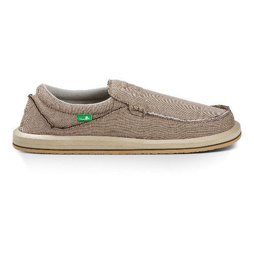 Mens Sanuk Chiba TX Casual Shoe - Brown 13