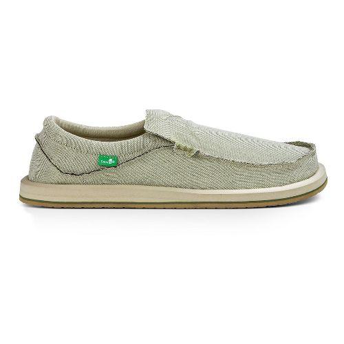Mens Sanuk Chiba TX Casual Shoe - Olive 8