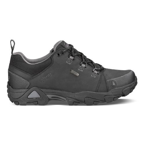 Mens Ahnu Coburn Low Waterproof Hiking Shoe - Black 10.5