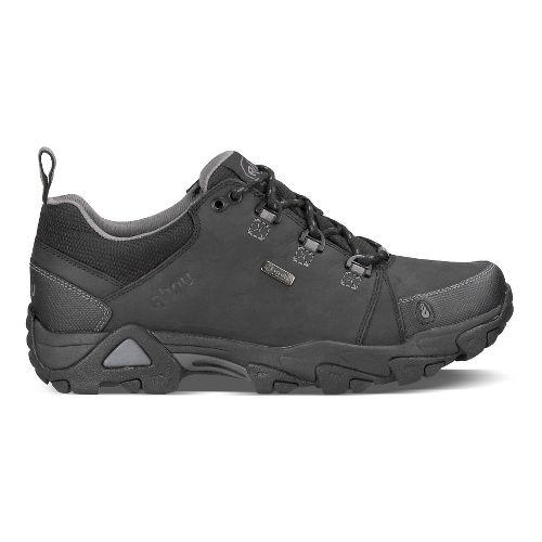 Mens Ahnu Coburn Low Waterproof Hiking Shoe - Black 11.5