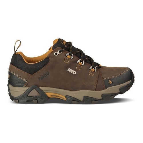 Mens Ahnu Coburn Low Waterproof Hiking Shoe - Porter 10