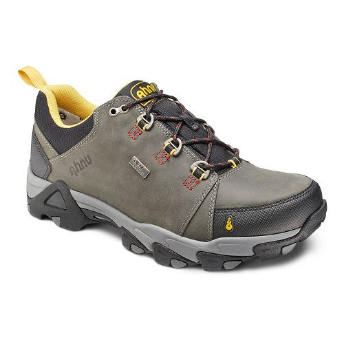 Mens Ahnu Coburn Low Waterproof Hiking Shoe - Steel Grey 9