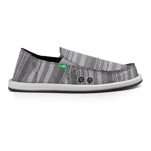 Mens Sanuk Donny Casual Shoe - Grey/Vintge Denim 11