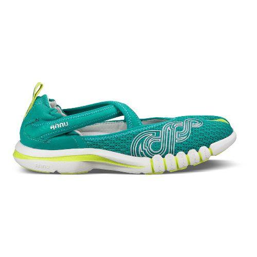 Womens Ahnu Yoga Split Cross Training Shoe - Pure Atlantis 11