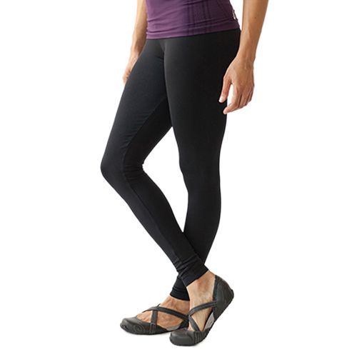 Womens Ahnu V Ankle Capris Pants - Black XS