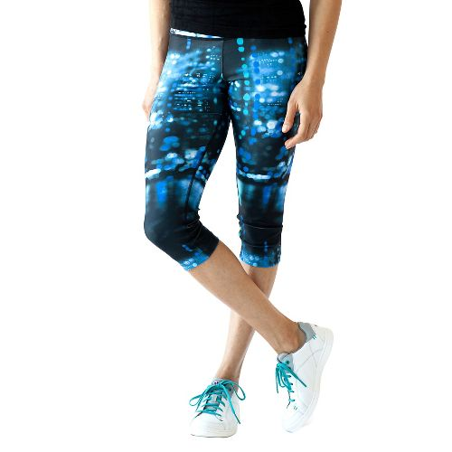 Womens Ahnu Rio Capris Pants - Blue City M