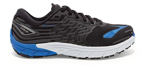 Mens Brooks PureCadence 5 Running Shoe - Black/Blue 10.5