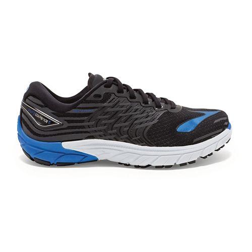 Mens Brooks PureCadence 5 Running Shoe - Black/Blue 10.5