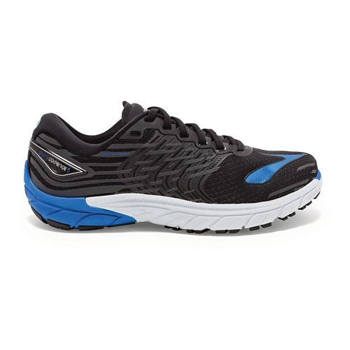 Mens Brooks PureCadence 5 Running Shoe - Black/Blue 9.5