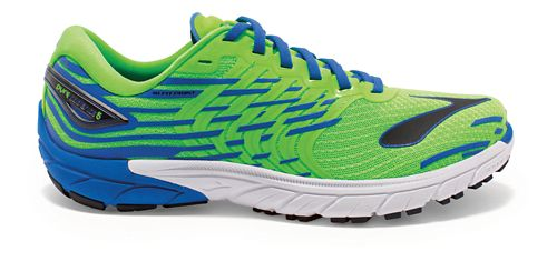 Mens Brooks PureCadence 5 Running Shoe - Green/Blue 12.5