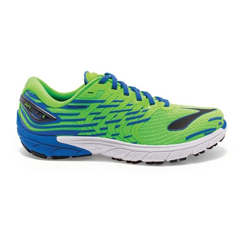 Mens Brooks PureCadence 5 Running Shoe - Green/Blue 10