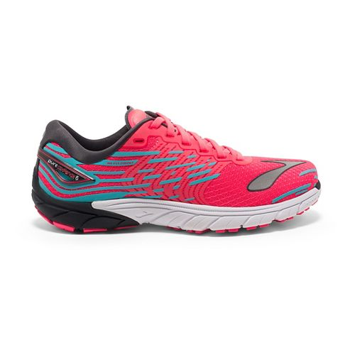 Womens Brooks PureCadence 5 Running Shoe - Pink/Anthracite 11.5