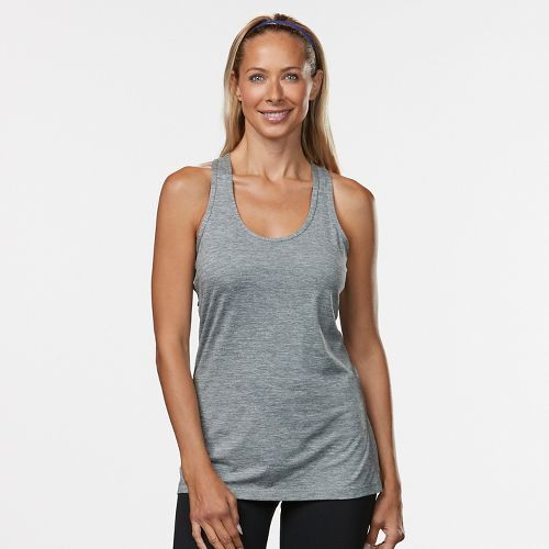 Womens R-Gear Revive Racerback Sleeveless & Tank Technical Tops - Grey L