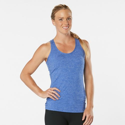 Womens R-Gear Revive Racerback Sleeveless & Tank Technical Tops - Rhythm & Blue L