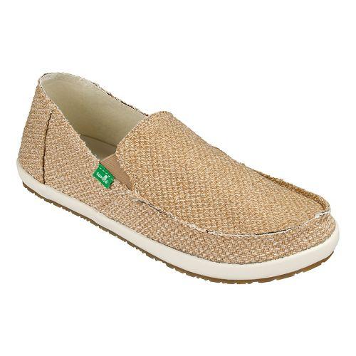 Mens Sanuk Rounder Hobo Hemp Casual Shoe - Natural Hemp 11