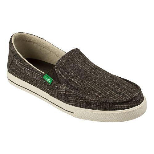 Mens Sanuk Sideline TX Casual Shoe - Brown Slub 11