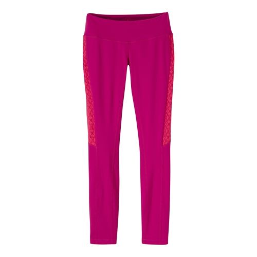 Womens Prana Lennox Leggings Pants - Rich Fuchsia L