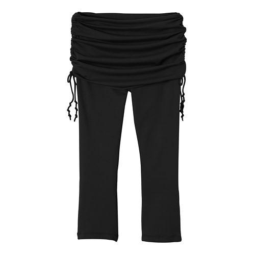 Womens Prana Cassidy Capris Pants - Black M