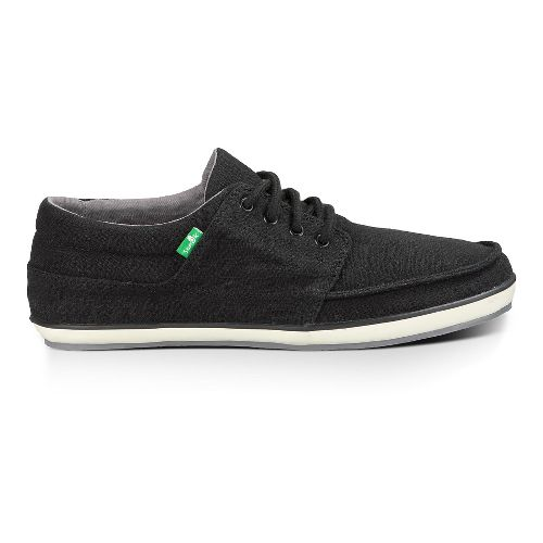 Mens Sanuk TKO Casual Shoe - Black 10.5