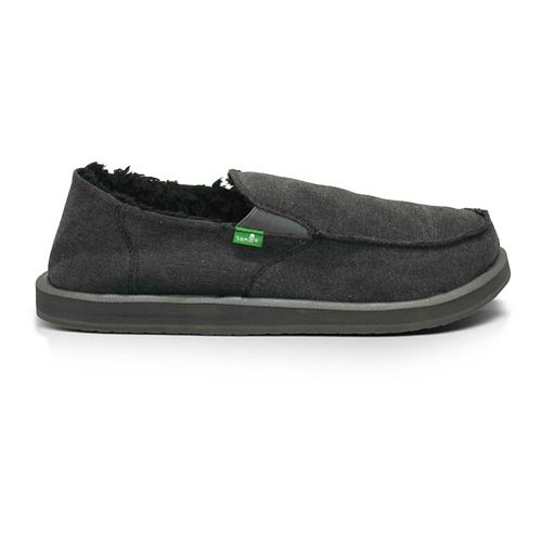 Mens Sanuk Vagabond Chill Casual Shoe - Charcoal 10