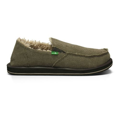 Mens Sanuk Vagabond Chill Casual Shoe - Brown 10