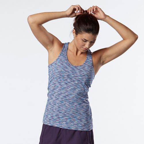 Womens R-Gear Revive Striped Racerback Sleeveless & Tank Technical Tops - Let's Jam/Lily M
