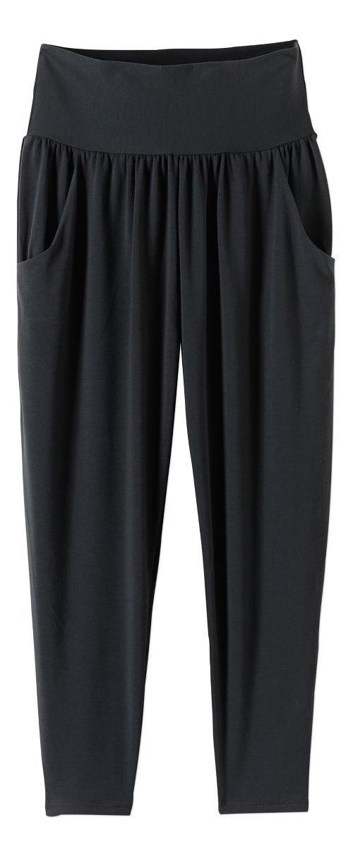 Womens prAna Ryley Crop Pants - Black XS