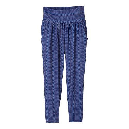 Womens prAna Ryley Crop Pants - Blue L