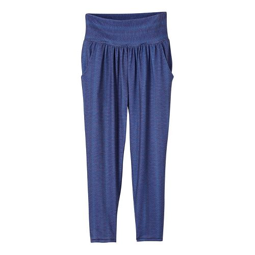 Womens prAna Ryley Crop Pants - Blue S